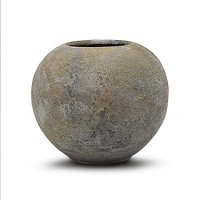 Vaso Bola Terracota Natural G